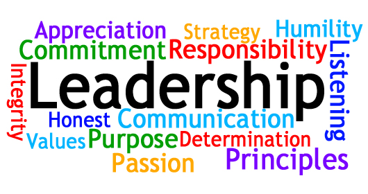 Leadership collage