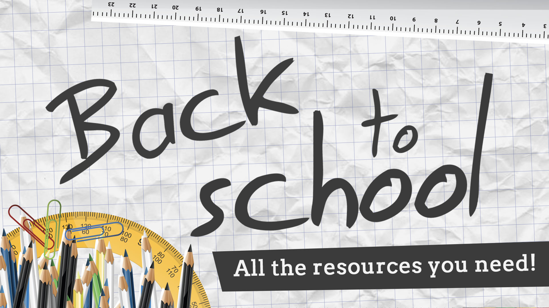 Back to School Banner